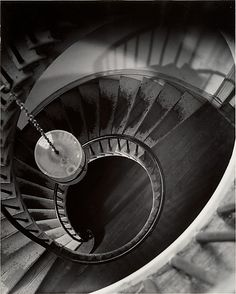 [Circular Stair]  Clarence John Laughlin