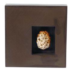 silver brooch with beach stone, Lluís Duran