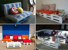 Sofa from pallets