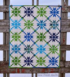 Sew Fresh Quilts: Island Batik - Sock Hop and Twin Baby Quilts