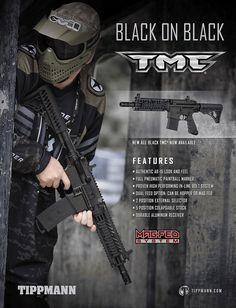 Le tippmann TMC en version 100 % noire, bientôt disponible dans les boutiques atomik bien sur.