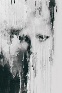 Dark Photo Manipulation by Giorgia Napoletano Mixed Media Photography, Art Photography, Photography Hashtags, Photography Lessons, Digital Photography, Street Photography, Art Visage, Drawn Art, Art Plastique