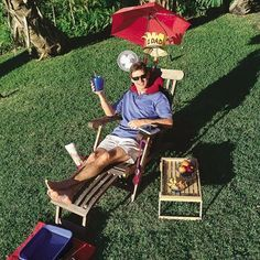 Father's Day Ideas - The Father's Day Throne! Treat Dad like a king for the day.