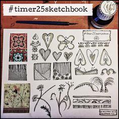 III milliande de III: Timer 25 Sketchbook Studies - Day 5