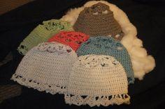 Lace Crochet motive hat