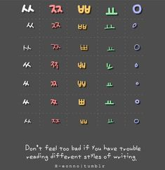 Do you have trouble reading some fonts/styles of writing in Korean? Korean Slang, Korean Phrases, Japanese Phrases, Korean Words Learning, Korean Language Learning, Learning Spanish, Learning Languages Tips, Foreign Languages, Korean Handwriting