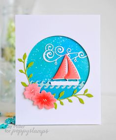 Smooth Sailingby the Poppystamps Design Team