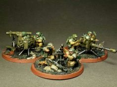 Imperial guard heavy weapons teams