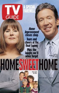 TV Guide May 22, 1999 - Tim Allen and Patricia Richardson of Home Improvement.