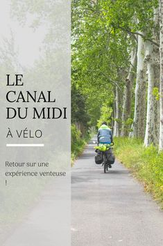 Taking A Motorcycle On Your Camping Trip Road Trip France, France Travel, Rando Velo, Le Canal Du Midi, Slow Travel, Buy Tickets, Train Travel, Outdoor Camping, Wonderful Places