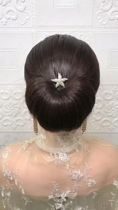 Hairdo For Long Hair, Bun Hairstyles For Long Hair, Bride Hairstyles, Headband Hairstyles, Hairstyle Braid, Beautiful Hairstyles, Quick Hairstyles, Party Hairstyles, Front Hair Styles