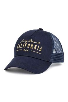Gorra - Azul oscuro California - MUJER  37d620ace6c