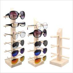 074a5c751b65  Bincoco деревянный стенд для очков 3d стекло дисплея frame Солнцезащитные  очки для женщин Стенд включения реквизит четыре стиль Лидер продаж купить на  ...