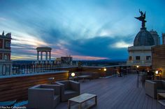 Roof Bar del Hotel Vincci 66 #Madrid, gracias a @CallejandoMad #verano #MadridSeduce