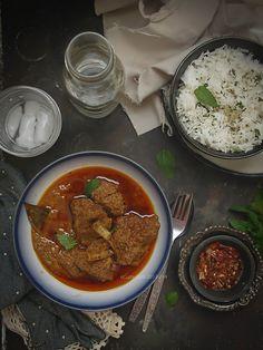 Rogan-Josh- Kashmiri Mutton Curry with Yogurt and Spices