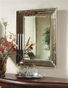 Jewels Silver Jewels Wall Mirror