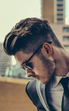 Slicked Back Hairstyle Trend for Men 2016 | Men's Hairstyles and Haircuts for 2017