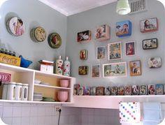 Bron's beautiful kitchen.