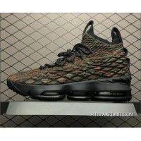 99b8037b7a2 Free Shipping Nike LeBron 15 Bhm Black Multi-Color AA3857-900 Nike Lebron