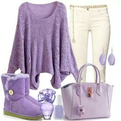 Cute lila