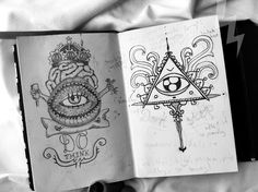 Find images and videos about drawing, eye and creepy on We Heart It - the app to get lost in what you love. Tattoo Sketches, Tattoo Drawings, Art Drawings, Illuminati Tattoo, Tattoo Addiction, Occult, Art Forms, Tattoo Inspiration, Illustrations Posters