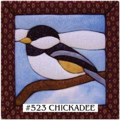 """Quilt Kits - Chickadee Quilt Magic Kit - 6""""X6"""""""