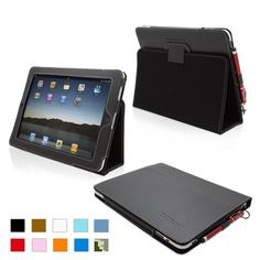 Review for Snugg iPad 1 Case PU Leather Case Cover and Flip Stand Premium Nubuck Fibre Interior (Black) – Superior Quality Design as Featured in Wired Magazine