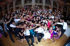 Heather & George - Biggest & Happiest Group Shot Ever!
