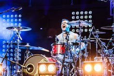 Harry Judd of McFly performs on stage at the Royal Albert Hall on September 19 2013 in London England