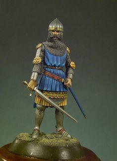 Sir John of Creek 54 mm Series Medieval Knights.
