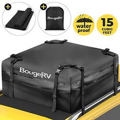 Amazon has the BougeRV Rooftop Cargo Carrier Bag with Anti-Slip Mat 15 Cubic Feet Waterproof Car Roof Bag Roof Top Cargo Luggage Storage Bag 1000D PVC, with 8 Reinforced Straps + Storage Bag for Cars with Side Rail marked down from $84.99 to $47.99. That is $32 off retail price! TO GET THIS DEAL: GO…