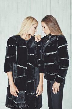 64ae24ae6f5f1 Real fur coat for women - Winter jacket - Womens coats - Gift for her -  Gift for women