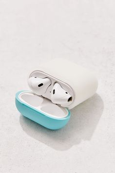 Check out elago AirPods Silicone Duo Case from Urban Outfitters Spy Gadgets, Phone Gadgets, Floral Iphone Case, Iphone Cases, Marble Iphone Case, Gadget Gifts, Airpod Case, Iphone Accessories, Apple Products
