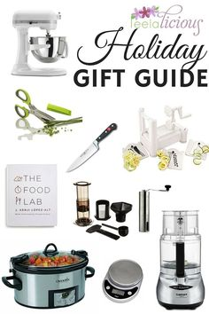 Leelalicious Gift Guide: 9 Perfect Kitchen Gift Ideas for food lovers and cooking enthusiasts