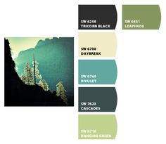Color Card - Sherwin-Williams Chip it Purty