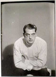 Man Ray photograph: Luis Bunuel Paris 1929