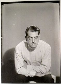 Luis Buñuel, Paris (1929). Photo by Man Ray.