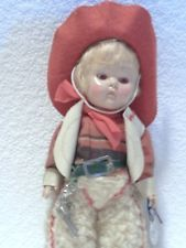 1950 VOGUE GINNY COWBOY SONNY BROTHER/SISTER SERIES HANG TAG NEARLY M