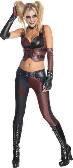 Adult Arkham City Harley Quinn Costume - Party City | Harley Quinn