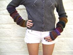 Ravelry: Knitted Arm Warmers pattern by Sheila Zachariae