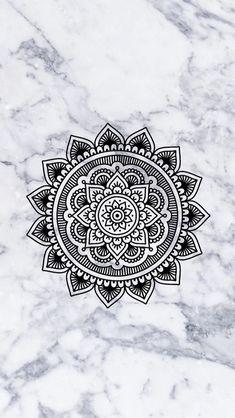 Simple Mandala Art Pattern And Designs – Coloring Mandalas Iphone Wallpaper Girly, Marble Wallpaper Phone, Tumblr Wallpaper, Cellphone Wallpaper, Wallpaper Backgrounds, Mandala Art Lesson, Mandala Artwork, Mandala Drawing, Dibujos Zentangle Art