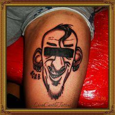 Tattoo Caricatura Por LionCastleTattoo