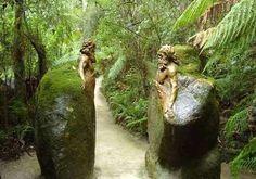 moss sculpture