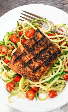 Blackened Salmon wit