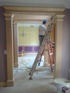BUILDER'S BOX ENTRY GETS MAJOR UPDATE. Work by Erika Ward Interiors