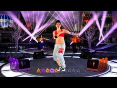 Zumba Fitness Rush - Uno Sabe Bien - high intensity Latin Pop + multiplayer gameplay - YouTube