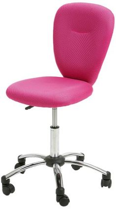 SixBros H298F1412 Office Swivel Chair Pink Amazoncouk
