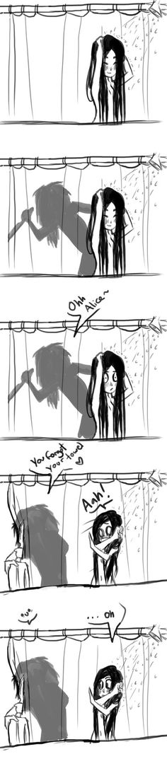Don't forget your towel! by lexet on deviantART I think he just wanted to see her naked