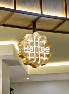 100% Design: Branding Inspiration #4: Waffee