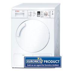 Bosch WTE84301GB 7kg Condenser Tumble  Dryer Tumble Dryers, Washing Machine, Home Appliances, House Appliances, Appliances